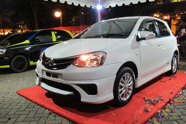 Harga Toyota Etios Terbaru Desember 2017
