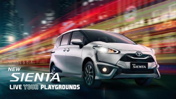 Paket Kredit Toyota Sienta September 2021 DP Termurah